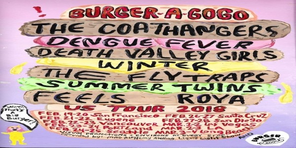 BURGER-A-GO-GO: Dengue Fever, Winter, Summer Twins, Patsy's Rats