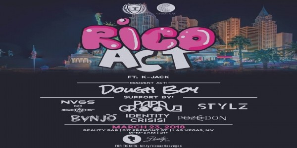 Caged Cat and Underground Events Present: RICO ACT feat. K. Jack