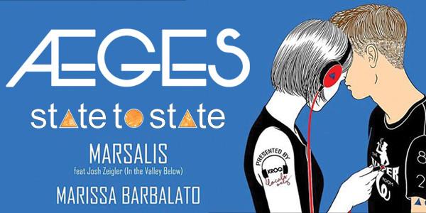 AEGES, State To State, Marsalis, Marissa Barbalato