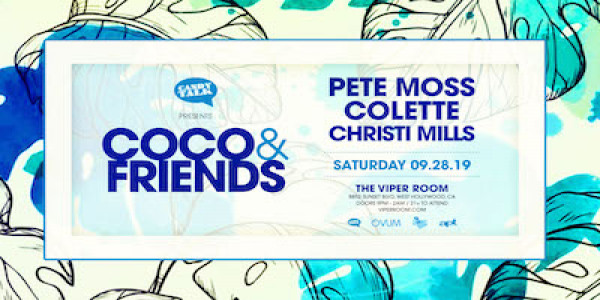 COCO & FRIENDS - PETE MOSS, COLETTE & CHRISTI MILLS