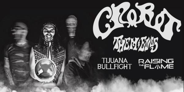 CROBOT, THEM EVILS, TIJUANA BULLFIGHT, RAISING THE FLAME