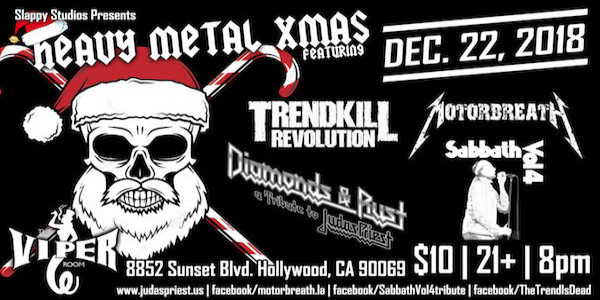 Trendkill Revolution, Motorbreath, Sabbath Vol 4, Diamonds & Rust