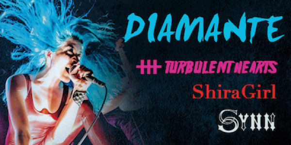 DIAMANTE, TURBULENT HEARTS, SHIRAGIRL, SPECIAL LATE SET by SYNN