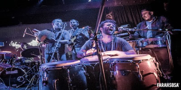 Kelly McGarry : STORM, MIKE PARKER, MEXICO68 AFROBEAT ORCHESTRA, ADAM SAXE, H'ATINA, NISH THE FISH