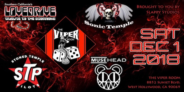 Stoned Temple Pilots, Sonic Temple, LoveDrive, Muse Head