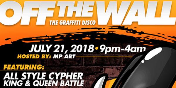 OFF THE WALL: The Graffiti Disco!
