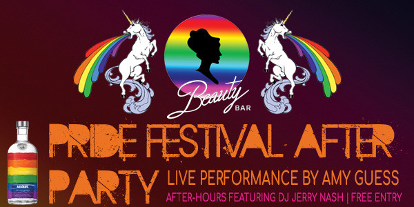 PRIDE Festival After-Party featuring performance by Amy Guess