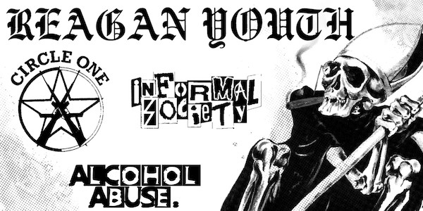 REAGAN YOUTH, CIRCLE ONE, INFORMAL SOCIETY, ALCOHOL ABUSE