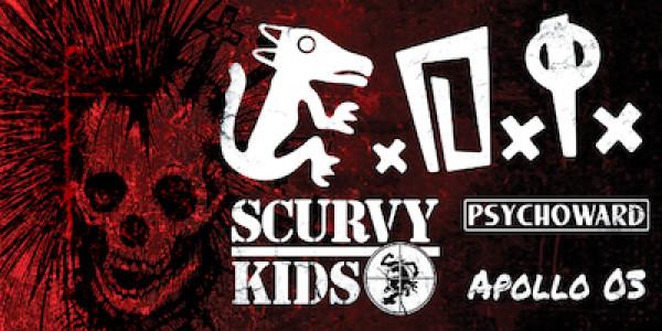 D.I., SCURVY KIDS, PSYCHOWARD, APOLLO 03