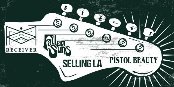 PISTOL BEAUTY, SELLING L.A., FALLEN SUNS, RECEIVER
