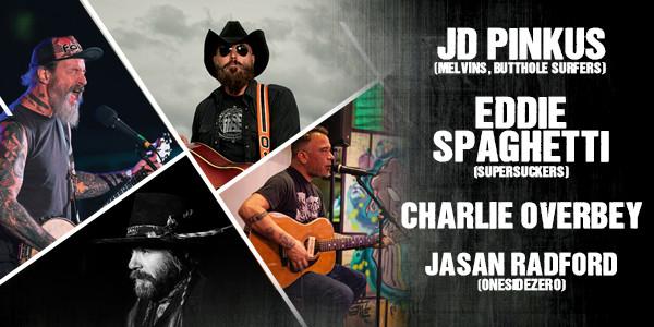 EDDIE SPAGHETTI & JD PINKUS, CHARLIE OVERBEY, JASAN RADFORD of ONESIDEZERO