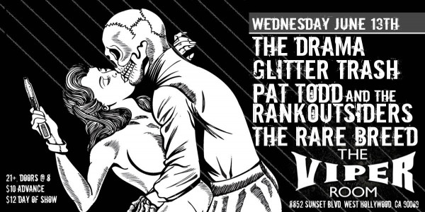Metal Assault Presents: The Drama, Glitter Trash, Pat Todd & The Rankoutsiders, The Rare Breed