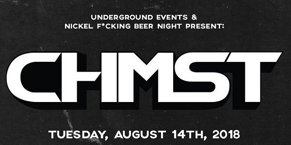 NFBN x Underground Events present: CHMST