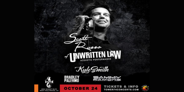 Scott Russo The Voice Of Unwritten Law Acoustic Performance